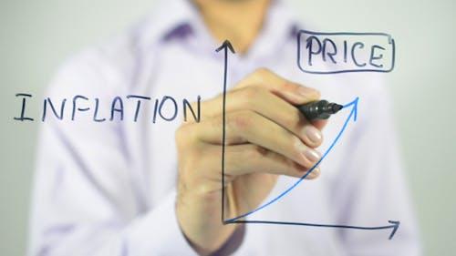 Inflation, Clip Art Graph Illustration