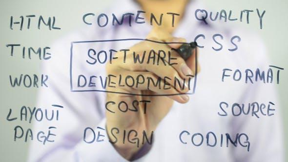 Thumbnail for Software Development, Concept Illustration