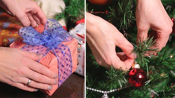 Vorbereitungen für Weihnachten