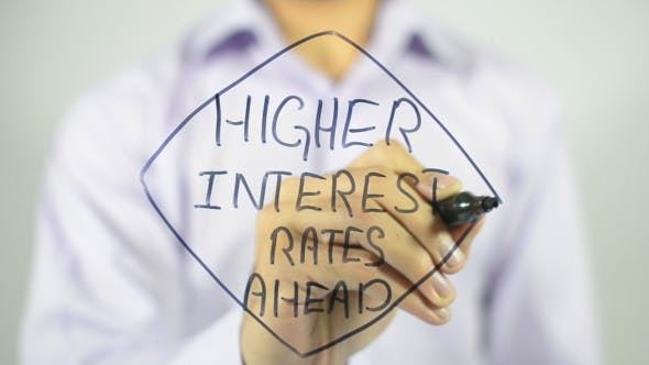 Thumbnail for Higher Interest Rates Ahead, Concept Illustration