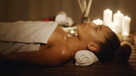 Thumbnail for Woman Getting Relaxing In The Spa Salon