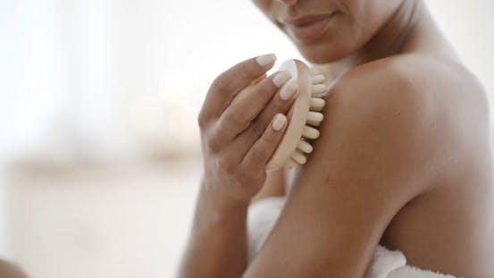 Thumbnail for Woman Massaging Her Shoulder