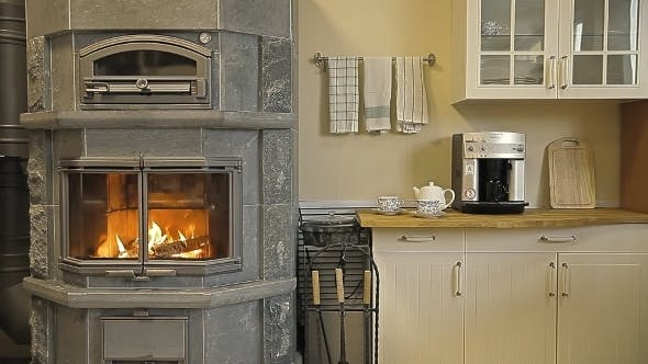Thumbnail for Fireplace-stove In The Kitchen
