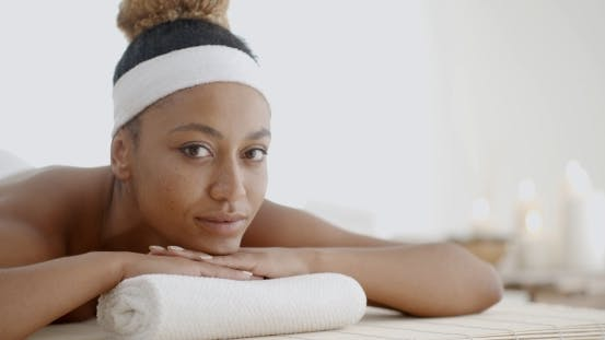 Thumbnail for Woman Relaxing On A Pillow