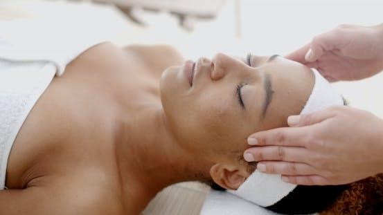 Thumbnail for Woman Taking Head Massage