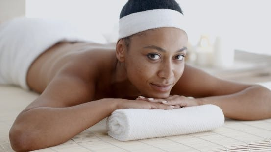 Thumbnail for Woman Lying In A Wellness Center