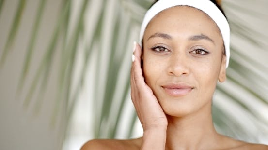 Thumbnail for Woman Who Takes Care Of Her Face.