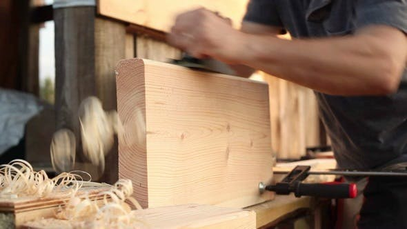 Thumbnail for Steps to a Wooden Ladder