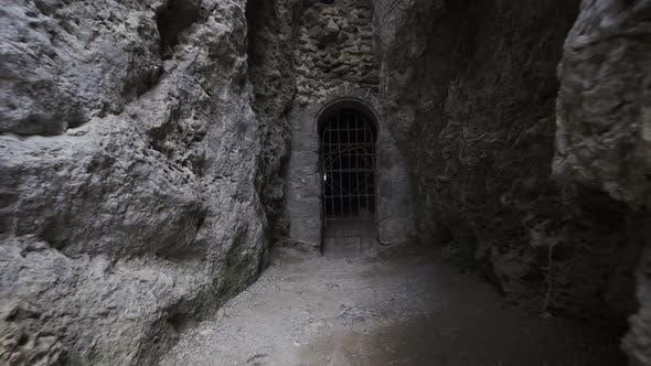 The Derinkuyu Underground City Is an Ancient Multilevel Cave City in Cappadocia Turkey
