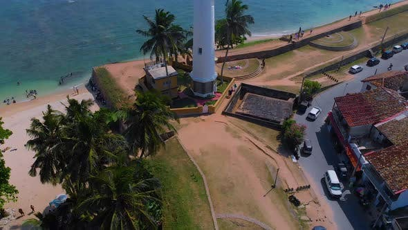 Thumbnail for Aerial View of Galle Fort, Srilanka