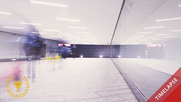 Thumbnail for Walking in a Futuristic Tunnel