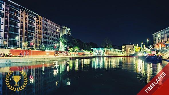 Thumbnail for Stadt Lichter am Fluss
