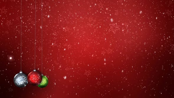Thumbnail for Christmas Background V2