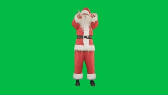 Thumbnail for Santa Sends a Kiss In The Form Of The Heart On a