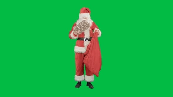 Thumbnail for Santa Claus With His Sack Of Lots Of Presents