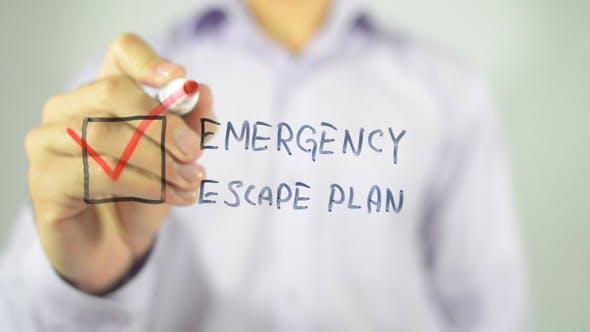 Thumbnail for Emergency Escape Plan, Checklist Illustration