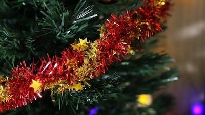 Christmas Tree And Christmas Lights