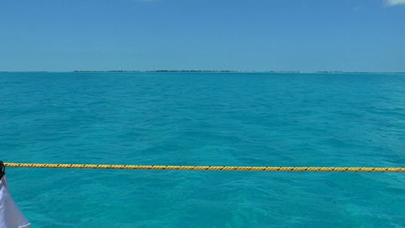 Thumbnail for Clear Water of Caribbean Sea near Cayo Largo