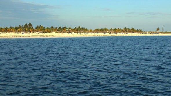 Sandy Beach of Cayo Largo del Sur