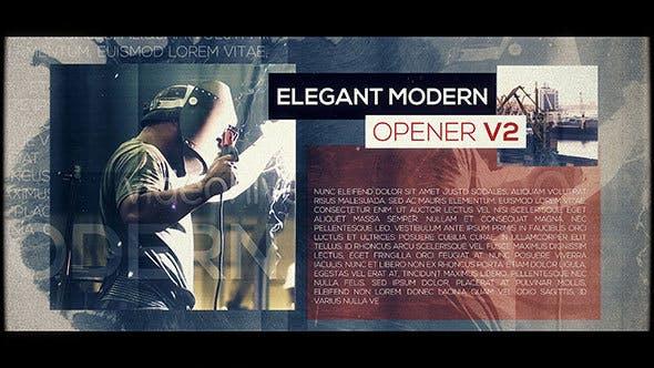 Thumbnail for Elegant Modern Opener V2