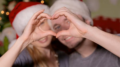 Making a Heart in Christmas