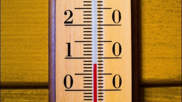 Thumbnail for Temperature Increases On a Thermometer