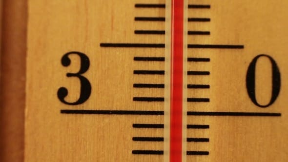 Thumbnail for The Temperature On The Thermometer Moves.