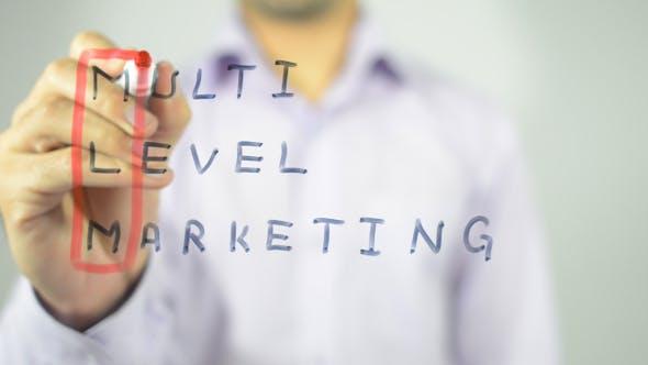 Thumbnail for Multi Level Marketing, Concept Illustration