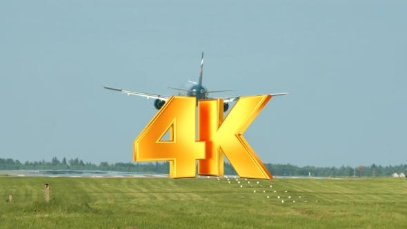 Thumbnail for Airplane Landing On Runway