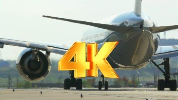 Thumbnail for Passenger Jet Plane On The Runway
