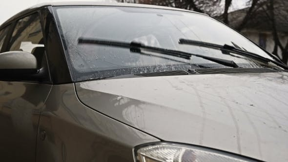 Thumbnail for Windscreen Windshield Wipers In Motion