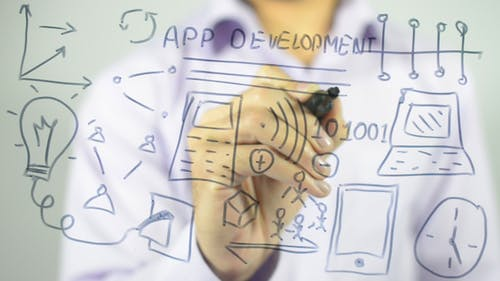 App Development, Drawing Illustration