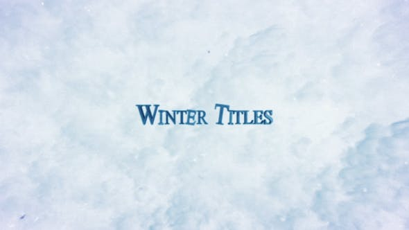 Thumbnail for Winter Trailer Titles