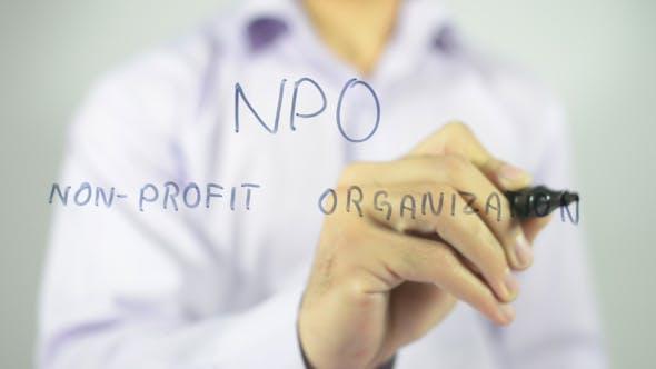 NPO, Non Profit Organization