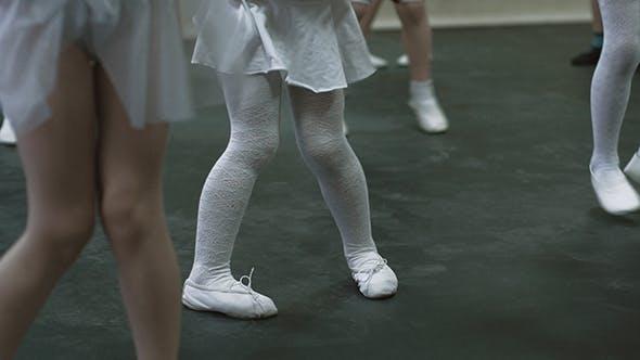Thumbnail for Kids Dancing Feet Of Little Girl Dancing