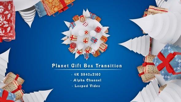 Planet Gift Box Transition