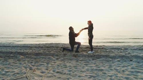 Hochzeits-Verlobungsvorschlag