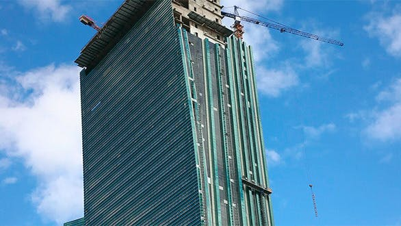 Cover Image for Skyscraper Under Construction