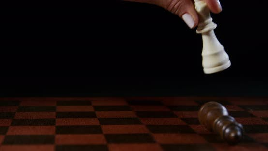 Thumbnail for Queen Makes a Move on the Chessboard 18b
