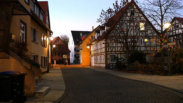 Thumbnail for Traditional Half-Timbered Houses In Germany