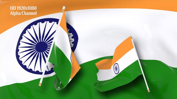 Thumbnail for Flag Transition - India