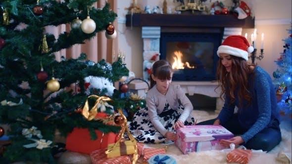 Thumbnail for Girl Enjoying Her Christmas Present