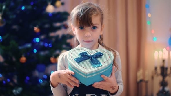 Thumbnail for Beautiful Little Girl With a Gift