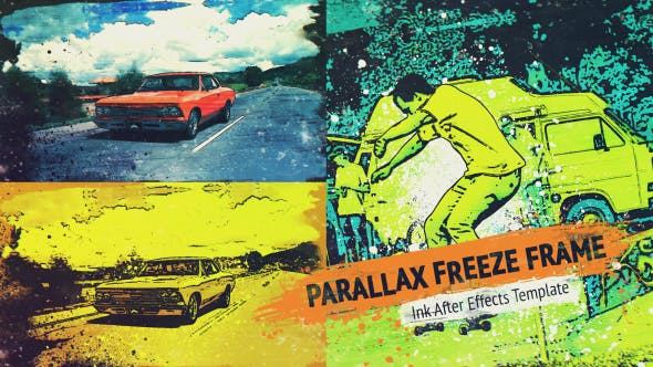 Thumbnail for Parallax Freeze Frame - Cartoon Trailer V1