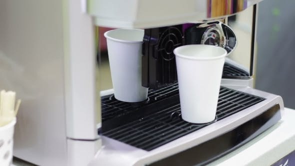 Thumbnail for Automatic Coffee Machine Working And Produces