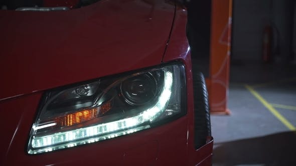 Thumbnail for Flashing Indicator On Car