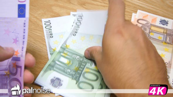 Thumbnail for Euro € Notes Mix Counting 50, 100, 500