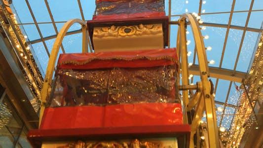 Thumbnail for Carousel in Amusement Park in Fun Fair Ferris Wheel