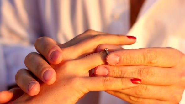 A Boy Making Proposal