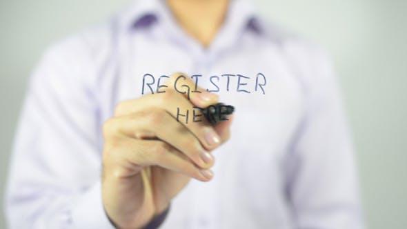 Thumbnail for Register Here